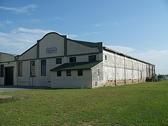 National Register of Historic Places listings in Polk County, Florida - Image: Auburndale Citrus Packing House 01