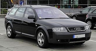 Audi allroad quattro - Image: Audi allroad quattro 2.5 TDI (C5, Facelift) – Frontansicht, 3. Juli 2011, Essen