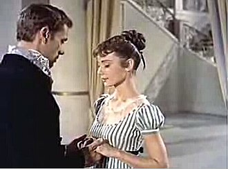 War and Peace (1956 film) - Image: Audrey Hepburn War&Peace