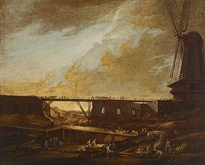 Suomenlinna under Construction, the Thunberg Mill