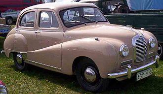 Austin A40 Somerset - Austin A40 Somerset Saloon