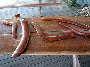 Boomerang - Australian Aboriginal boomerangs