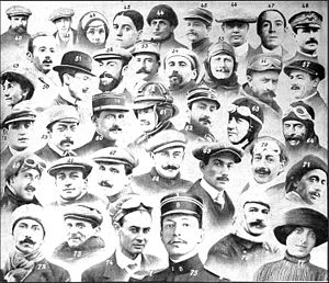 Early Birds of Aviation - 38 aviators who died between 1908 and 1912