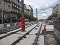 Avril 2019 pose de la nouvelle voie boulevard Foch pas très loin de la place lorraine .jpg