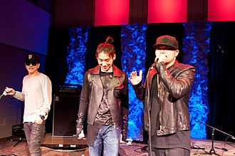Aziatix - Flowsik, Eddie, Nicky - San Diego 2012.