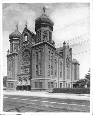 Wilshire Boulevard Temple - Second B'nai B'rith Synagogue, built in 1896.