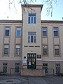 Bács Kiskun Megyei Kórház, C épület, bejárat, 2019 Kalocsa.jpg