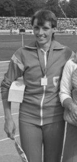 Bärbel Wöckel East German sprinter
