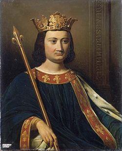 Portrait de Philippe IV par Jean-Louis Bézard, 1837.