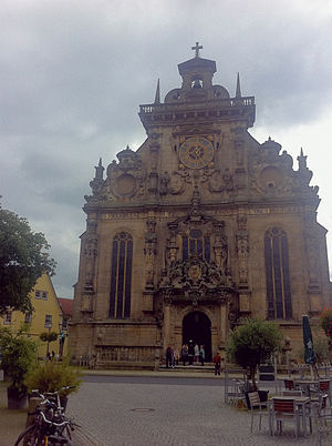 Bückeburg - The Bückeburg town church.