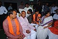 B.L. Katiyar with Jila BJP karyakarta and Vinay Katiyar.jpg