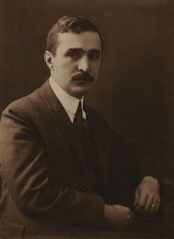 "Портретна снимка на Владимир Василев, 1920 – 1923 г. Източник: ДА ""Архиви"""