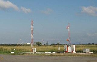 Transponder landing system