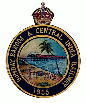 Bombay, Baroda and Central India Railway - Image: BBCI Logo