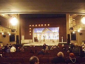Tovstonogov Bolshoi Drama Theater - The main scene and auditorium of BDT (before a performance of Quartet by Ronald Harwood)