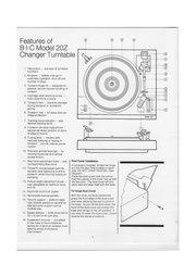 File:BIC Series Z Turntables, Owner's Manual, Model 20Z.pdf ...