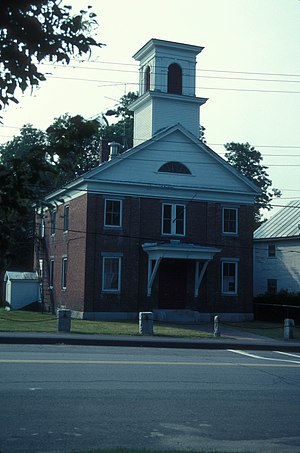 National Register of Historic Places listings in Somerset County, Maine - Image: BLOOMFIELD ACADEMY
