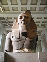 The British Museum, Room 4 - Colossal bust of Ramesses II (1250 BC)
