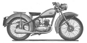 BSA Bantam - Image: BSA Bantam D1 early