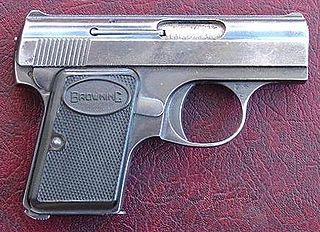 Pocket pistol Term for a small, pocket-sized semi-automatic pistol