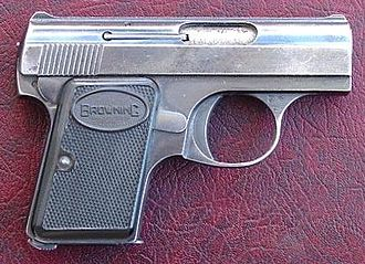 Pocket pistol - .25 ACP Baby Browning