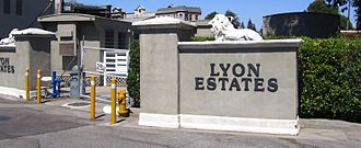 Back to the Future - Lyon Estates set used in the film