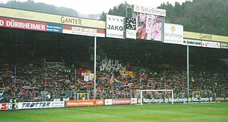 Schwarzwald-Stadion - North-side stands