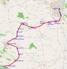 Spoorlijn Maagdenburg - Thale - Wikipedia