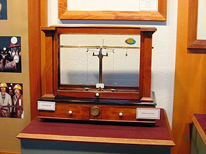 Joseph Black - A precision analytical balance