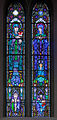 Ballinasloe St. Michael's Church North Aisle Fifth Window St. John and Our Lady by Harry Clarke Studios 2010 09 15.jpg