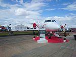 Balmoral Air (VH-WIO) Dassault Falcon 2000EX on display at the 2015 Australian International Airshow 2.jpg