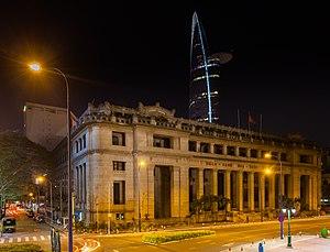 Economy of Vietnam - National Bank of Vietnam, Ho Chi Minh City.