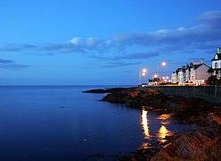 Bangor Bay at dusk (geograph 2097401).jpg