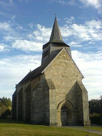 Banize - The Church of Saint-Sulpice, in Banize