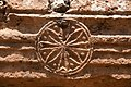 Baptistery, Bashmishli (باشمشلي), Syria - Medallion on portico entablature - PHBZ024 2016 4342 - Dumbarton Oaks.jpg
