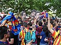Barça fans - Champions league 2015 Berlin.JPG