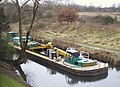 Barge on the Grand Union Canal - geograph.org.uk - 1189977.jpg