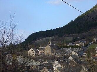 Barjac, Lozère - A general view of Barjac