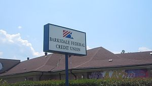 Hodge, Louisiana - Barksdale Federal Credit Union is located off Highway 167 in Hodge.