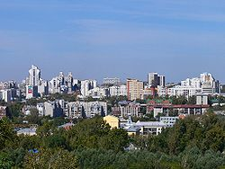 Skyline of Barnaul
