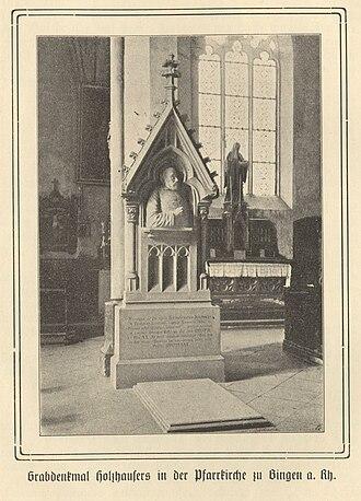 Bartholomew Holzhauser - Tomb Holzhausers in Bingen, 1913