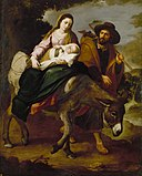 Bartolomé Esteban Murillo - The Flight into Egypt - 48.96 - Detroit Institute of Arts.jpg