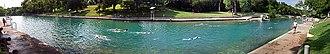 Barton Springs Pool - Image: Barton Springs 2