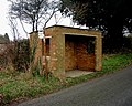 Barton Stacey - Bus Shelter - geograph.org.uk - 647968.jpg