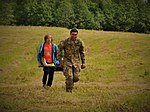 Basic medical training provided for Latvian survival campers 150717-A-ZZ359-070.jpg