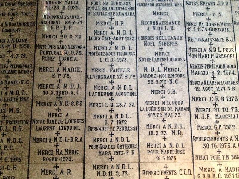 Basilique de l'Immaculée Conception à Lourdes (France)