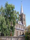 batenburg (wijchen, gld, nl), church sideview