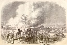 Battle of Fair Oaks Franklin's corps retreating.jpg