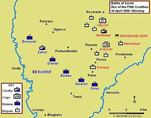 Battle of Sacile 1809 Map.JPG