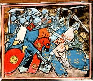 Battle of Tagliacozzo - Image: Battle of tagliacozzo